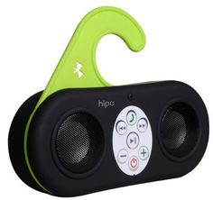 Hipe Waterproof Wireless Bluetooth Shower Speaker & Handsfree speakerphone - Black - Compatible with all Bluetooth Devices, iPhone 5 Siri and All Android devices: Players & Accessories Waterproof Bluetooth Speaker, Bluetooth Speakers, Shower Speaker, Gadgets And Gizmos, Iphone 4s, Cell Phone Accessories, Audio, Amazon, Streaming Music
