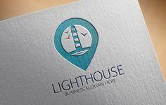 Lighthouse Logo by fastudiomedia on Creative Market