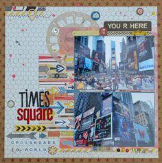 New York City - Times Square by Johnnyssa at Studio Calico