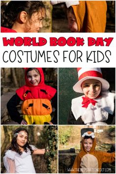 If you follow The Inspiration Edit regular you will know that we love to read children's books. Last year for World Book Day we shared some great World Book Day Costumes and I thought it would be fantastic to do this again. #worldbookday #bookday #costumes