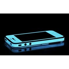 iPhone 4 & 4S Blue Glow in The Dark  #iphone. SO COOL!