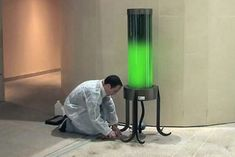 Living Microalgae Lamp Absorbs CO2 From the Air | Inhabitat - Sustainable Design Innovation, Eco Architecture, Green Building