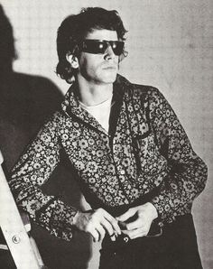 The Velvet Underground: Lou Reed, circa 1968 (R. Lou Reed, passed away today @ 71 yrs old, having had a liver transplant last May. The Rolling Stones, Music Icon, My Music, Rock N Roll, Ray Ban Sunglasses Outlet, Idole, Drag, Thing 1, Rock Music