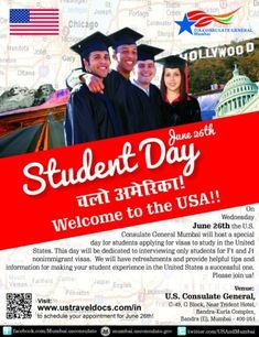 Block your US Student F1 Visa interview date for 26th June 13