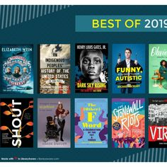 Best of 2019 (teen fiction and non) Jim Crow, Dark Skies, Me As A Girlfriend, Flyer Template, The Funny, Fiction, Templates, History, Wine