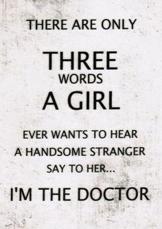 Alternative Wording TARDIS Sign Fabric: For Doctor by FandomFabric