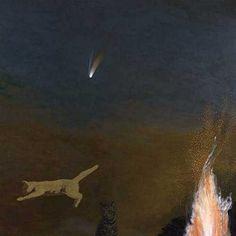 DAVID INSHAW Cats and Comet, 1998-2002