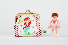 Ariel coin purse-doesn't get much sweeter than this:)