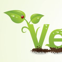 Creating an Environmentally Friendly Green Type Treatment by Ryan Putnam, With oil prices the way they are today, everybody is thinking Green. I have done many projects recently that require a Green style applied to the design. Web Design Tutorials, Art Tutorials, Spring Logo, Shop Signage, Nature Vector, Type Treatments, Adobe Illustrator Tutorials, Alphabet Design, Logo Design