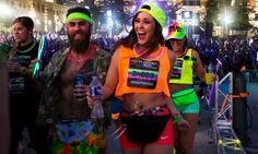 Groupon - $ 30 for Entry to a Nighttime 5K Music Festival from Night Nation Run: May 20 ($60 Value)  in Chicago. Groupon deal price: $30