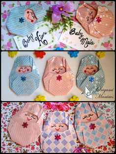 Origami Maniacs: Origami Bebés / Bebes de Origami