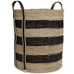 Mayores Basket Large White Office, Large Baskets, Large Black, Reusable Tote Bags, Happy, Products, Ser Feliz, Gadget, Being Happy