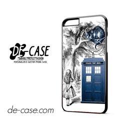Alice In Wonderland Ceshire Cat Police Box Us DEAL-513 Apple Phonecase Cover For Iphone 6 / 6S Plus