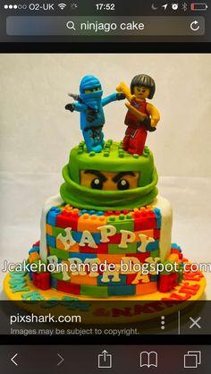 Lego Ninjago Cake Party Birthday