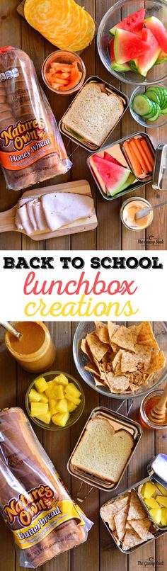 Back To School Lunchbox Creations - The Gunny Sack Here are the Back To School my kids came up with! These lunch box ideas are easy to make, yet filling and delicious. Healthy Lunches For Work, Healthy Toddler Meals, Kids Meals, Work Lunches, Toddler Food, Easy School Lunches, School Lunch Box, No Heat Lunch, Back To School Breakfast