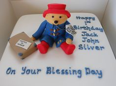 1000+ images about Paddington bear cake ideas on Pinterest ...