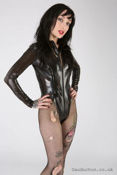 Fetish Tattoo Rubber Latex