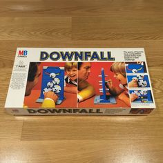Downfall Board Game 1977 Rare Vintage Milton Bradley MB Incomplete | eBay