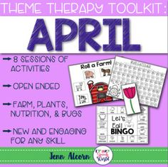 APRIL Themed games f