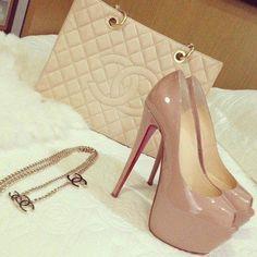 #Chanel & #Louboutin Love