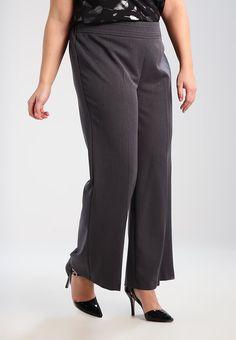 Evans PICASSO - Spodnie materiałowe - grey - Zalando.pl