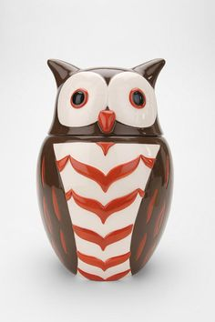 Owl cookie jar - I am buying this as soon as possible!!