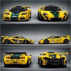 F1 GTR vs P1 GTR