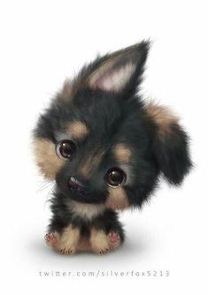 The cutest dog ever! - Chiara - cutest : The cutest dog ever! Cute Dog Drawing, Cute Animal Drawings, Kawaii Drawings, Puppy Drawings, Pencil Drawings, Rabbit Drawing, Adorable Drawings, Baby Drawing, Drawing Animals