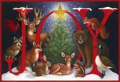 CHRISTMAS JOY CLIP ART