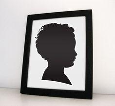 Custom portrait. $19.00, via Etsy.