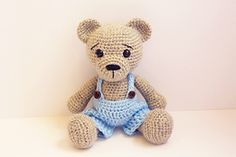 Ravelry: Amigurumi Teddy Bear Boy pattern by Anat Tzach