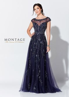cc24beedc6ae6 Ivonne D Exclusively For Mon Cheri 119D48 - This stunning and sparkling  beaded tulle A-
