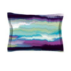 Artika Blue by Nina May Purple Cotton Pillow Sham