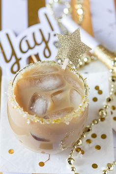 Salted Caramel Iced Coffee Cocktail Recipe