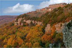 The vista of Mount Magazine Lodge #Arkansas