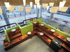 Artistically Interior Modern Coffee Shop Design