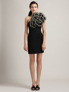 """Crepe Rosebud Dress by Alice Temperley: I love how Carrie Bradshaw this dress is. A definite """"look at me"""" dress. Love it."""