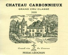 Chateaux Carbonnieux 2009 - Pessac Leognan / Bordeaux / France. Exists in reds & white. 2009 was one of the best vintages of the estate. Average Score : 91,83 / 100 (15 critics) :::::::I have one bottle left of this wine.::::::::