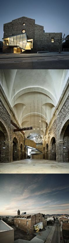 "The Reconversion of Sant Francesc Convent; by: David Closes Architects; ""The…"