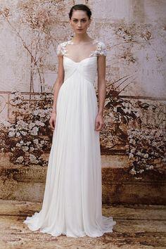 Monique Lhuillier Wedding Dresses ~ Autumn/Fall 2014 collection