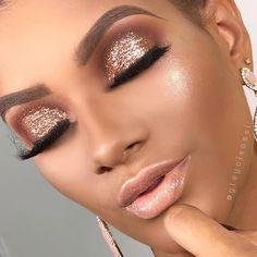 Makeup & Skin Care: Ten Different Ways of Eye Makeup Flawless Makeup, Glam Makeup, Gorgeous Makeup, Love Makeup, Skin Makeup, Makeup Inspo, Bridal Makeup, Wedding Makeup, Makeup Inspiration