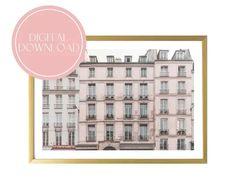 Paris Digital Download Printable Art Print French Wall Decor Original Artwork