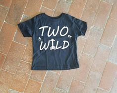 2 Wild Two Year Old Birthday Shirt Boys 2nd Top