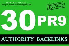 rank Website or YouTube with SEO PR9 Authority Backlinks by aryanvideocraze