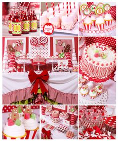 Candy Land Christmas Party - Karas Party Ideas - The Place for All Things Party great christmas desserts Candy Land Christmas, Christmas Party Themes, Noel Christmas, Christmas Goodies, Christmas And New Year, Winter Christmas, All Things Christmas, Holiday Parties, Holiday Crafts
