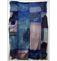 boro textiles of japan   Antique Japanese Boro Futon Cover