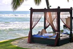 Imagine the sound of the surf, the warmth of the sun..ahh, feeling sleepy?!   Dominican Republic