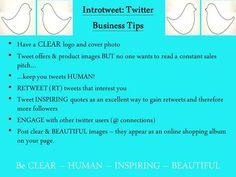 Tip sheet 1 - business tips!
