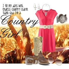 Thank God I'm a COUNTRY GIRL!!!!!!!! <3 on Polyvore