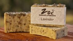 Lavender Bar Soap | Zoe Natural Creations {www.zoenaturalcreations.com} #Natural #organic #skincare #zoenaturalcreations #soap #body #beauty #health #ingredients